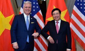 米国の国家安全保障担当補佐官はベトナムとの協力を拡大しようとしています