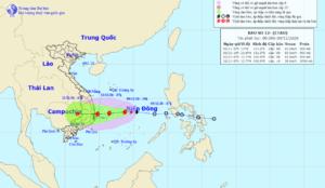 ベトナムに今度はエタウが豪雨をもたらす恐れ