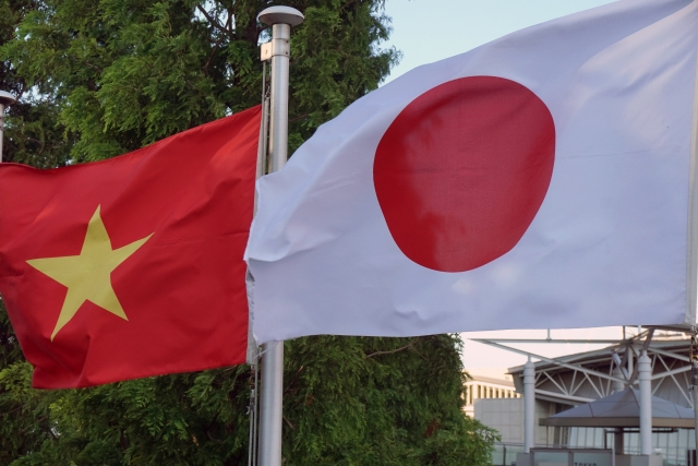 日本とベトナム首脳電話会談