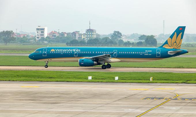 ベトナム航空の乗客がペーパータオルを燃やして遅延に