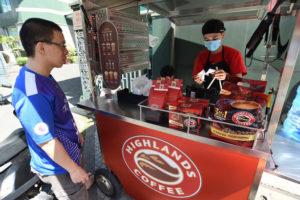ベトナム コーヒーのテイクアウトビジネス