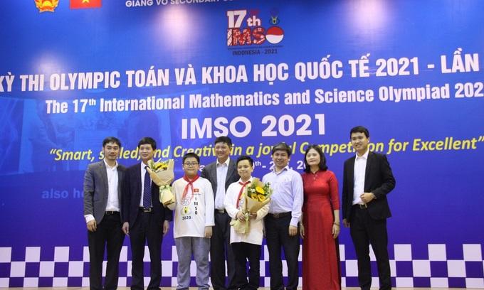 ベトナムの学生は数学・科学オリンピックで20個のメダル獲得