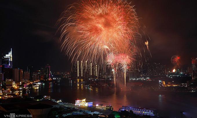 ベトナム ホーチミン市は旧正月の花火ショーをキャンセルします