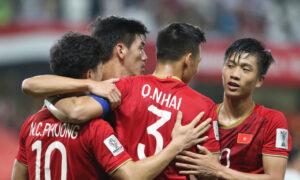 ベトナム サッカーの世界ランキングが上がっている