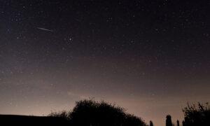 ベトナムの夜空を横切る古代の流星群