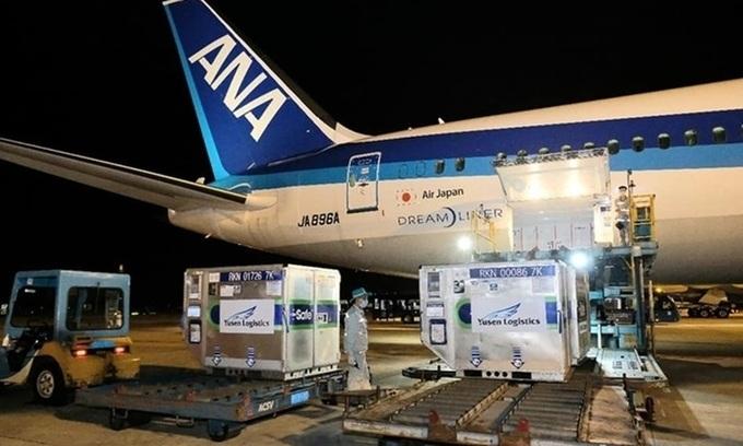 日本がベトナムに追加のアストラゼネカワクチンを供給する
