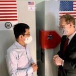 """<span class=""""title"""">米国はCovid-19ワクチンを保管するために36台の超低温冷凍庫をベトナムへ</span>"""